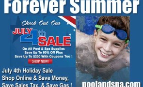 Independence Day Sale At PoolAndSpa.com