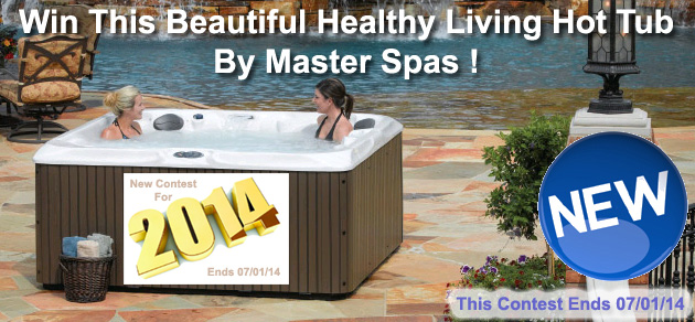Win A Free Healthy Living Hot Tub