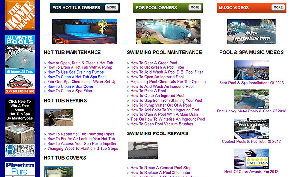 Pool And Spa TV