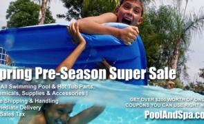 Spring Pre-Season Sale