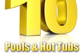 Top 10 Award Winning Swimming Pools, Swim Spas & Hot Tubs