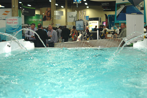 international pool spa and patio expo is huge success in