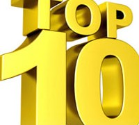 2015 Top 10 Awards