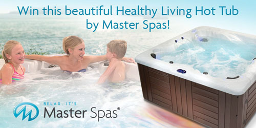 Win A Free Hot Tub From Master Spas