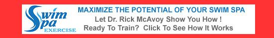 Dr. Rick McAvoy - Swim Spa Exercise Training Classes