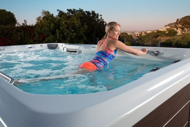 Using Your Swim Spa to Improve Muscle Strength