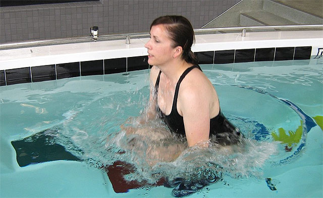 Dr. Rick McAvoy - Swim Spa Exercise Training Classes