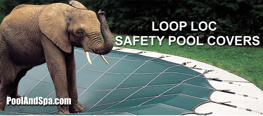 What is a loop loc pool cover for Swimming pool winter cover anchors