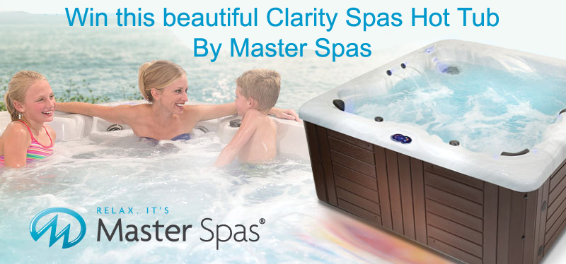 Win A Free $8000 Clarity Spas Hot Tub
